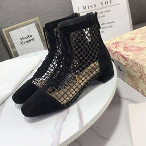 Women s Fashion Show Black Sexy Golden Mesh NAUGHTILY-D Boots Women s Sandals Pointed Top Quality Plate Forme Antique Golden Luxury Designer