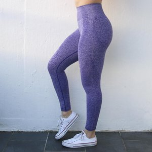 2020 Virson Nepoagym Mulheres New Vital Seamless Leggings Gym Seamless Leggings Yoga Pants Sport Girl Leggings
