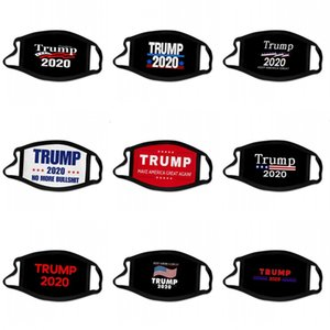 Mantenha Máscara América Grande Rosto de Trump Orelha de suspensão Todos os Exterior As bandeiras comboio presidencial Votação das estrelas dos EUA Máscaras impressos Mascarilla 2 C2 2bg