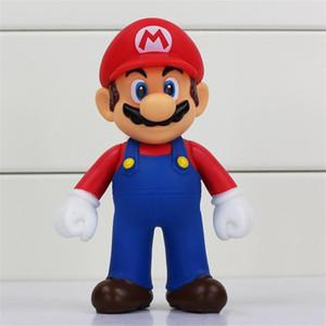 Супер Марио ПВХ Действие Фигуры куклы Марио луиджи пожара огонь Марио LuiGi Рисунок Игрушки 4 Стили 5 дюймов