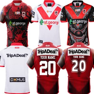 New 2020 2021 ST GEORGE ILLAWARRA DRAGONS NRL Nines Jersey 19 20 21 Commemorative Indigenous Rugby Jerseys NRL Rugby League Jerseys S-5XL