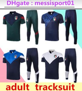 2020 2021 Survêtement de football polo à manches courtes Italie Survetement 2020/21 italia maillot de football ensemble BONUCCI manches courtes Survêtement
