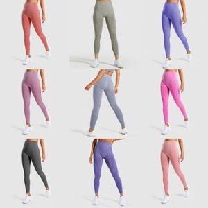 High Waist Seamless Yoga Pants Sports Leggings For Women'S Workout Slim Gym Fitness Push Up Winter Running Tights Leggings FX120#428