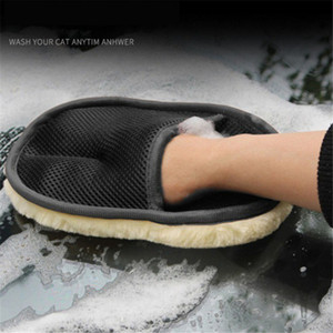 Car Styling Wool Soft Car Washing Gloves Cleaning Brush Motorcycle Washer Care Products