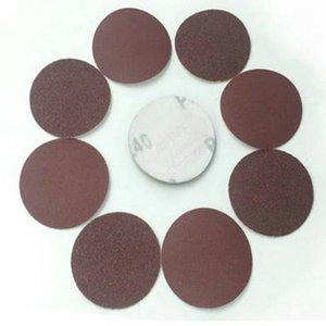 WHISM 3 Inches Sanding Paper Aluminum Oxide Polishing Pad Grinding Disc Sandpaper Polisher Mat 40-2000 Grit Abrasive for Sander