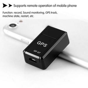 venta caliente, nuevo mini GF-07 GPS mini GPS espera largo magnética dispositivo SOS del perseguidor localizador de voz Recorde
