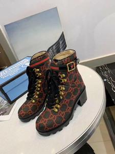 2019 hiver nouvelle bottine laine Mode pour femmes 578585 Motorcycle Chaussures populaire marque dames luxurys designers de haute qualité