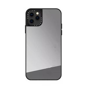 B38 прочный силиконовый чехол для iphone11pro макс зеркала Защитная крышка задней