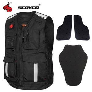 Giacca SCOYCO Moto Estate Maglia riflettente della maglia del motociclo Gilet motocross off-road Vest Protezione