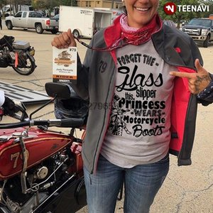 Forget The Glass Slipper This Princess Wears Motorcycle Boots T-Shirt