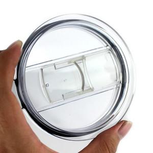 Copos plásticos transparentes tampa deslizante Cover Switch Copos Tampa para 20 30 oz Cars canecas de cerveja respingo LJJA1595 Proof