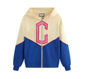 Men's women's designer hoodies sweater women's long-sleeved zipper embroidery letter pattern cardigan sweater jacket coats jumper Sweatshirt