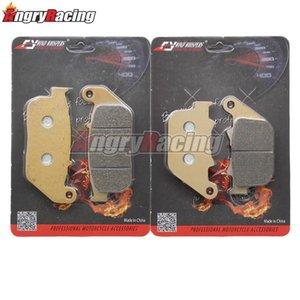 Copper Front Rear Brake Pads For XL50 XL883N XL883C XL883L XL1200C XL1200L XL1200N XL1200V XL1200X Iron Sportster Custom