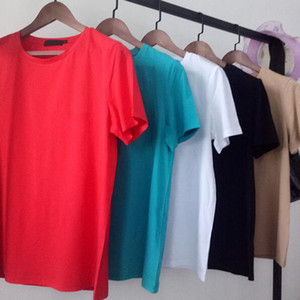 Mens Stylist T Shirt Fashion Mens Clothing Solid Letter Print Summer T Shirt Hip Hop Men Women Short Sleeve