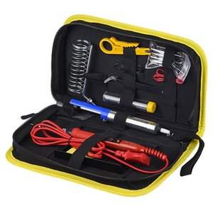 Soldering iron kit 80W with adjustable temperature and LCD control screen 80W thermostat electric iron set