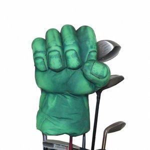 Golf The Green Hand Boxing Club-Abdeckung für Fahrer Holz 460cc Golf Club Kopf, Tierheadcover h5L2 #