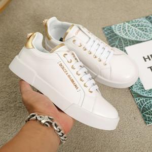 2020 chaussures D concepteur mens perles dos hommes logo chaussures de course Streetwear hommes luxe de la mode casual chaussures femmes chaussures de sport