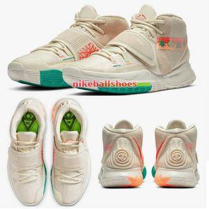 Kyrie 6 VI N7 NSW 아시아 USA 11 개념 Mens Womens Kids 농구 신발 상자 irvings와 판매를위한 vi 테니스 스포츠 스니커즈