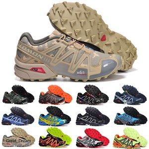 2020 New Zapatillas Speedcross 3 Casual Shoes Men Speed cross Walking Outdoor Sport Hiking Athletic Sneakers Size 40-46