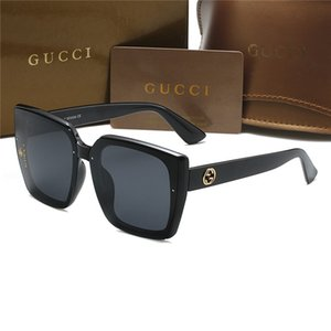 2020 gafas de sol de la mariposa de las mujeres de moda sin rebordes llama Sun Rhinestones de cristal del espejo del ojo de gato Eyewear UV400 Oculos Masculino Gucci