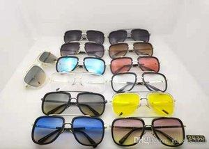 CI SONO scatole di lusso DITA NUOVA ALTA QUALITÀ stilista degli uomini di modo occhiali da sole delle donne di stile RETRO occhiali da sole unisex 13 colori OPTIO