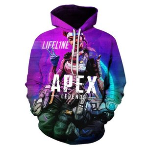 Apex Legends 3D Hoodies Men Streetwear 2019 New Sweatshirt 3D Hoodies Men's Women Autumn Long Sleeve Clothing CX200723