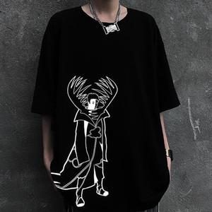 ragazzi del manicotto t-shirt corta 20200715 riflettente scura e gli amanti degli studenti ragazze