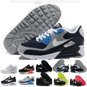 Men Sneakers Shoes Classic 90 Men Running Shoes Sports Trainer Cushion 90 Surface Breathable Sports Shoes 36-45