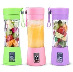 USB électrique Blender Juicer USB squeeze bouteille rechargeable Portable Juicer Mini Blenders fruits jus de légumes Maker Cuisine Outils LSK93