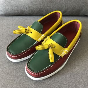 Männer Beleg auf Schuhen Big Size Dockside Schuhe Fashion Male Tassel Loafers 6 # 22 / 20d50