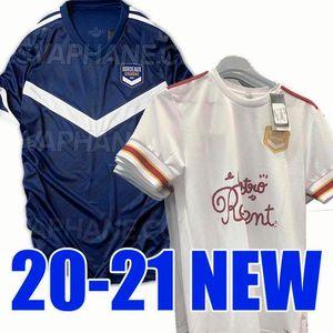 New 20 21 Girondins Bordeaux home soccer jersey 2020 2021 away football shirt Bordeaux Thailand quality maillot de foot camiseta de fútbol