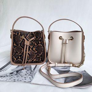 Moda Classic NEONOE benna della borsa Borse Borsa a tracolla Tote stampa Flowers Shopping Bag Vera Pelle Messenger Bag Crossbody