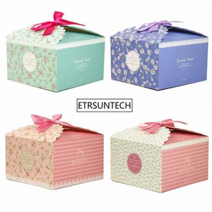 100Pcs Lot Fresh fashion Gift Box Candy Boxes Snack Boxes For Candy\Cake\Jewelry\Gift\toy\Party Packing YT0110