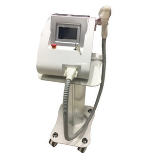 Touch Screen 2000MJ Q-Switch ND YAG Laser Tattoo Removal Machine Scar Removal Pigments Removal With Three Treatment Tips 1064nm 532nm 1320nm