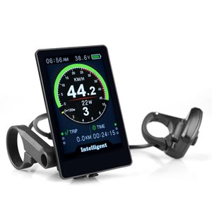New 860C Electric Bicycle Speedometer Ebike Display For Bafang BBS Series Mid Drive Motor Kit 3.5 inch IPS Colorful Screen