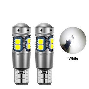 Car White 921 RV LED Light Bulbs T10 W5W 194 LED Camper Light Replacement Canbus 10smd 3030 Map Door License Plate Backup Reverse Lights 12V