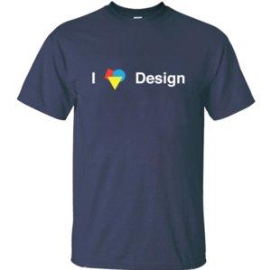 designer Funny I Love Design Bauhaus Architecture White t-shirt boy girl Sunlight slim mens tshirts Euro Size S-5xl cotton Comic