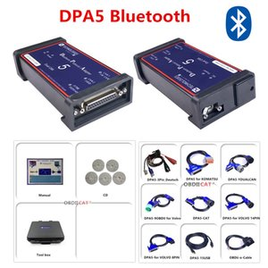 DPA5 With Bluetooth!! Diesel Truck Diagnostic CNH DPA 5 Dearborn Portocol Adapter 5 Heavy Duty Scanner Tool