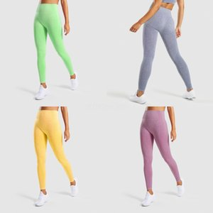 Sexy Clothes Fitness Seamless Push Up Yoga Pants High Waist Workout Jogging For Women Athleisure Elasticity Training Leggings#921