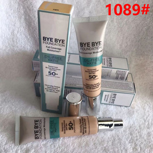 Bye Bye Foundation Oil Free Matte Medium Light 50 + 1089 # CC + Creme Medio Light Oil Free Matte 50 + Fondazione liquida Controllo dell'olio