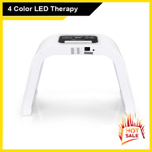 PDT 4 Color LED Light Facial Mask Photon Skin Care Beauty Machine PDT Therapy Skin Rejuvenation Acne Remover Anti-wrinkle