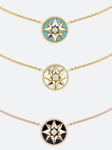 Famous brand necklace s925 sterling silver necklace beautiful jewelry ladies female birthday Christmas gift couple compass clavicle chain si