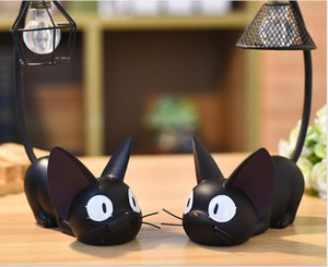 Newm Zakka groceries adorable multi-functional magic Gigi cat Nightlight creative home resin crafts ornaments for cross-border