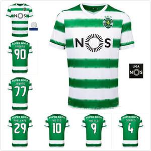 Sporting CP 20 21 Lisboa de Futebol Vietto COATES ACUNA casa 2020 2021 Sporting Clube de camisa de futebol maillot de pé tailândia