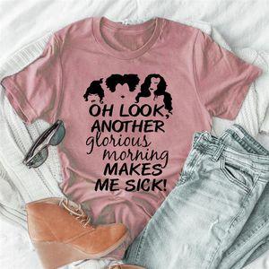 Halloween Womens Designer-shirts beiläufige Buchstabe-Muster O Ansatz Kurzarmshirts plus lose Breathable Frauen-T-Shirts Kleidung