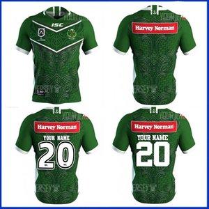 2020 Nueva maoríes todas las estrellas de rugby 2021 Jersey Jersey camisa casera Liga Tailandia calidad de Rugby camisetas de tamaño de las camisas S - 5XL