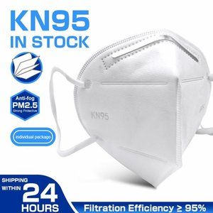 kn95 mask factory supply retail packaging 95% filter 5 layer face mask activated carbon Breathing masks Respirator non-Valve Mascherine