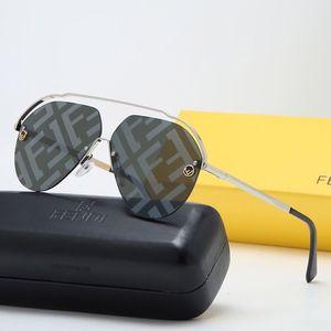 diseñador de moda 20Newgafas de sol de las gafas de sol de los hombres brand313 marco cuadrado; Fendi populares retro estilo de protección exterior gafas