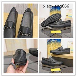 2020 neue importierte Pedal lässig Serie Erbsen Schuhe der Männer Vollleder-High-End-Qualität klassische Art und Weise Allgleiches