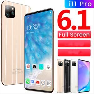 منخفضة التكلفة 6.1 بوصة i11pro عبر الحدود بقعة الهاتف الذكي، وملء الشاشة الهاتف المحمول الجيل الثالث 3G المحلية الروبوت OEM